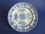 Fine Old Spode 'Trophies - Etruscan' Pattern Dinner Plate c1825